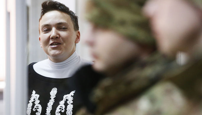 Савченко рассказала о VIP-условиях в камере