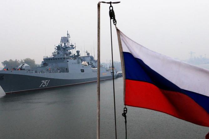Фрегат Черноморского флота «Адмирал Эссен»