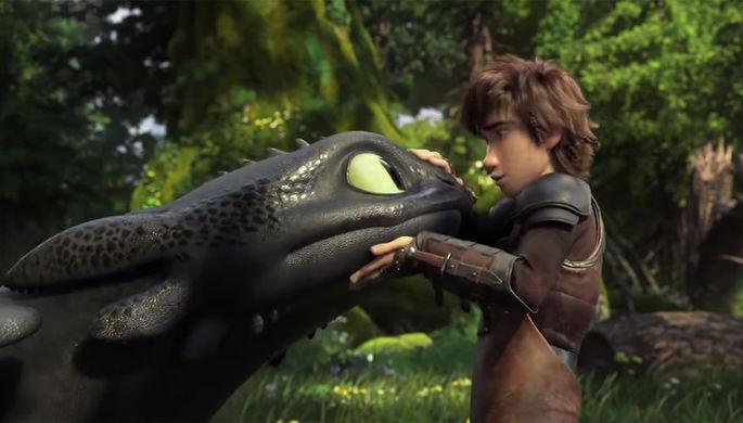 Кадр из мультфильма «Как приручить дракона 3»