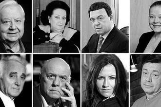 Табаков, Кобзон, Говорухин, Караченцов: кого забрал 2018-й