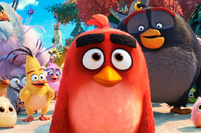 Кадр из фильма «Angry Birds 2»