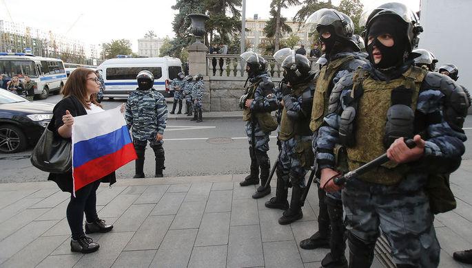 «За права человека»: в США требуют санкций после митингов в Москве
