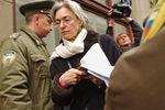 Анна Политковская уприемной администрации президента РФ, 2005год