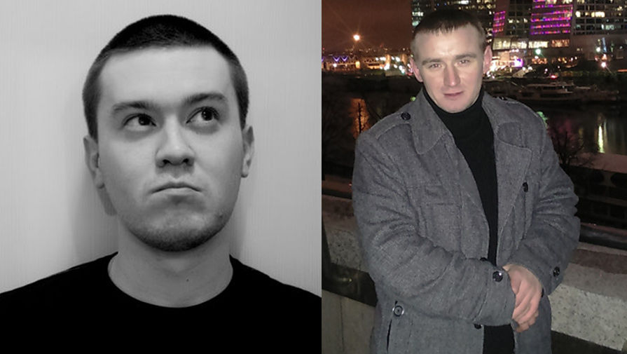 Александр Рубцов (слева) и Дмитрий Людвиг (справа)