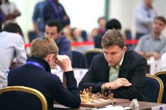 Российский гроссмейстер Сергей Карякин