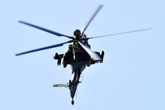 Гибель пилотов: военный вертолет разбился на тренировке