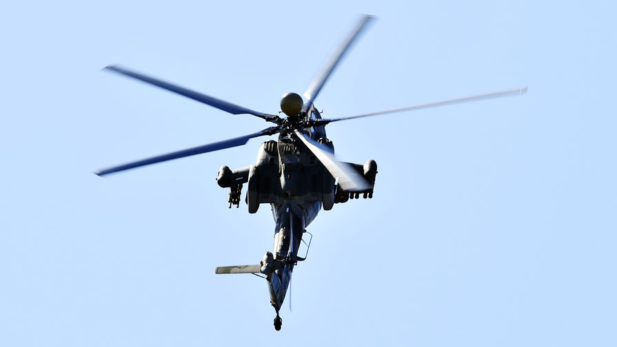 Вооруженные силы РФ получили новейшие ударные вертолеты Ми-28НМ