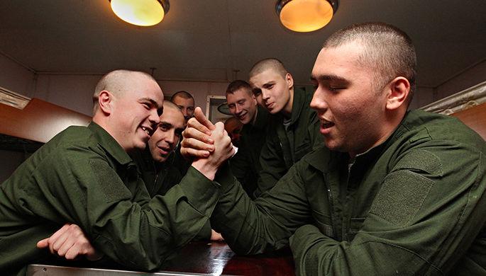 «Кормят в Российской армии прилично»