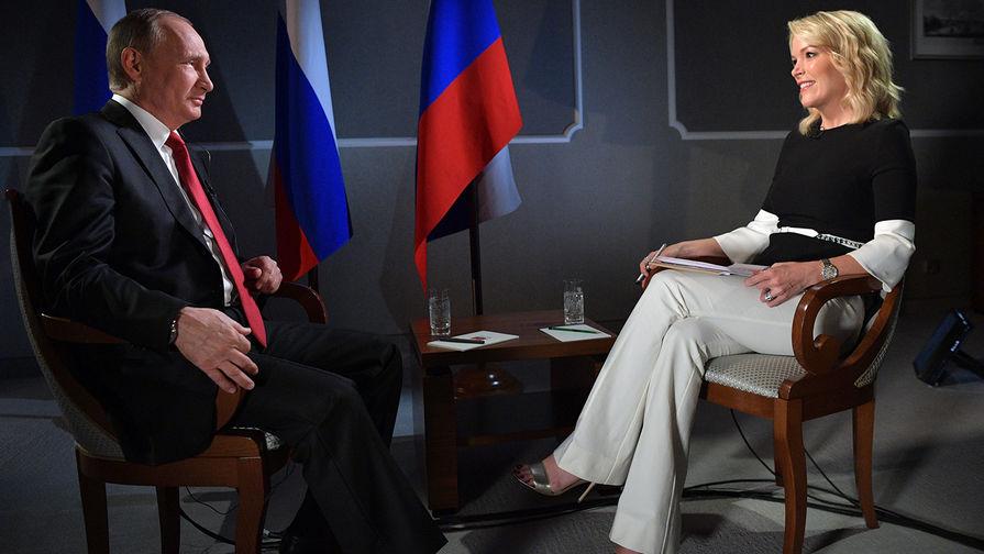 Опубликована полная версия интервью Владимира Путина для NBC с русскими субтитрами