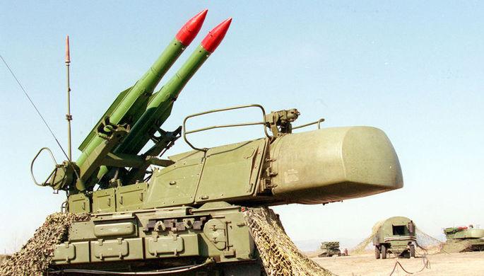Зенитно-ракетный комплекс «Бук», 1997 год