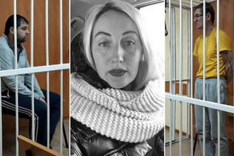 Ирина Синельникова и подозреваемые в ее убийстве (коллаж)