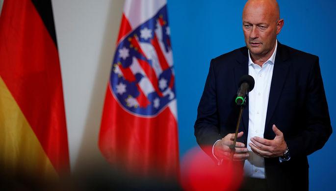 «Пятно позора»: премьер Тюрингии уходит в отставку