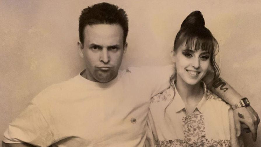 Наталья Сенчукова и Виктор Рыбин, начало 90-х