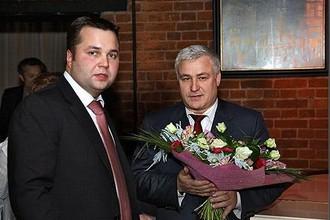 Иван Глухов (справа) и Максим Каганский