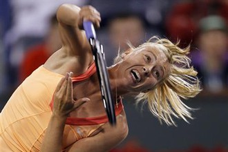 Мария Шарапова вышла в полуфинал турнира WTA в Майами