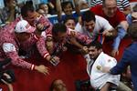 Арсен Галстян после завоевания золотой медали Олимпиады