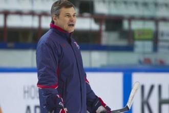 Дмитрий Квартальнов на тренировке в Новосибирске