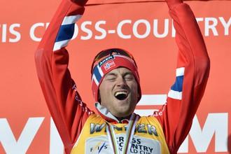 Триумф норвежского лыжника Петтера Нортуга