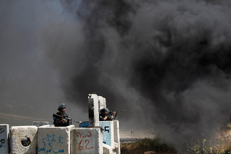 АТО в секторе Газа