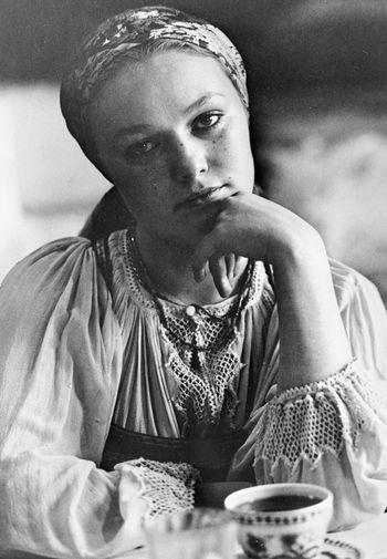 Наталья Андрейченко в роли Насти Соломиной в фильме «Сибириада» (1979)