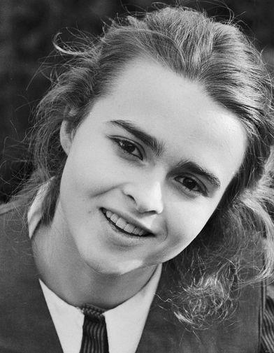 Хелена Бонэм Картер в молодости