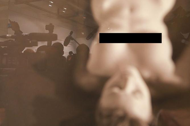 Одна из работ на выставке «Джок Стерджес. Без смущения» в Центре фотографии имени братьев Люмьер