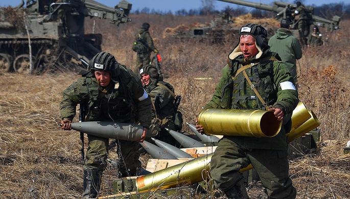Тактические учения в Приморском крае