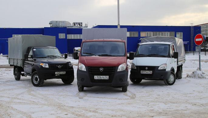 Машины, которые работают: «Газель-Бизнес», «Газель-Next» и УАЗ «Профи»