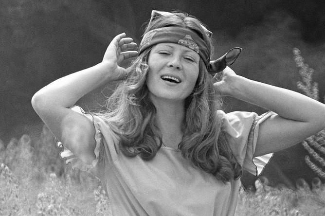 Актриса театра «Современник» Тамара Дегтярева, 1981 год