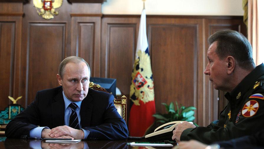 Путин национальная гвардия