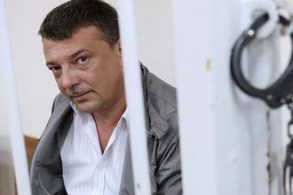 Начальник управления собственной безопасности СК РФ Михаил Максименко в Лефортовском суде