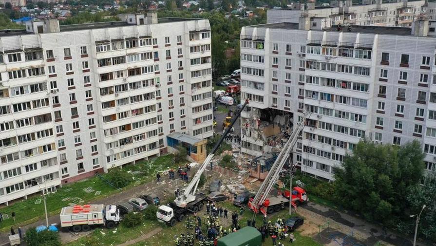 Число пострадавших после взрыва газа в доме в Ногинске выросло до 15