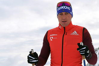 Лыжник Александр Легков