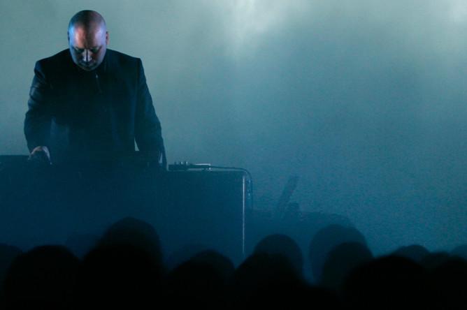 Концерт композитора Йохан Йоханнссон на фестивале в Токио, 2007 год