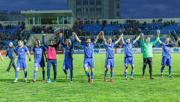 Футболисты курского «Авангарда»