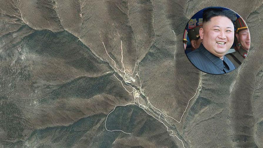 Ученые: КНДР своими взрывами обрушила подземный ядерный полигон