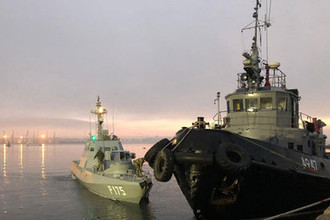 Когда и где угодно: Украина требует вернуть задержанные корабли