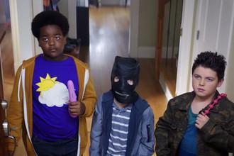 Кадр из фильма «Хорошие мальчики» (2019)