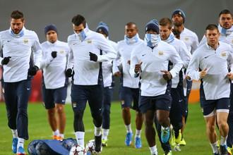 «Манчестер Сити» в холодной Москве готовится дать бой армейцам