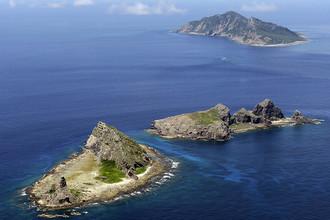 Острова Сенкаку (Дяоюйдао) в Восточно-Китайском море, которые Япония и Китай считают своими