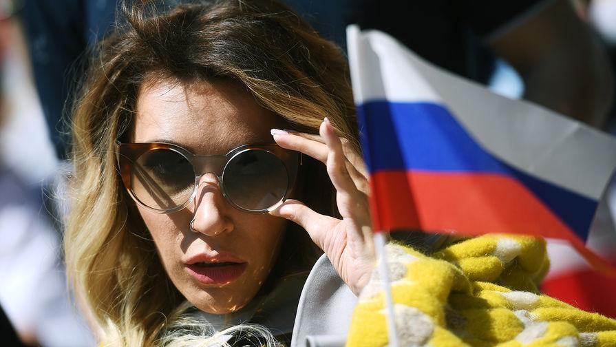 Участница «Евровидения» от России Юлия Самойлова в Лиссабоне, 2018 год