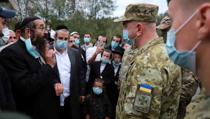 Ситуация на пункте пропуска «Новые Ярыловичи»—«Новая Гута» между Украиной и Белоруссией, 14 сентября 2020 года