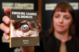 Суд в Австралии запретил печатать на сигаретных пачках бренды компаний