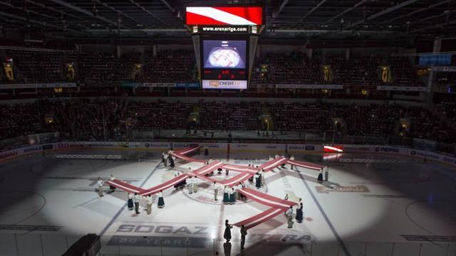 КХЛ оштрафовала рижское «Динамо» на 1 млн рублей за появление «свастики» на предматчевом шоу перед игрой с «Югрой» в рамках регулярного чемпионата.