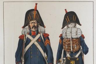 Гренадер гвардии в походной форме