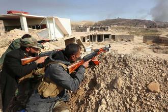 Иракские курды начали массированное наступление на террористов