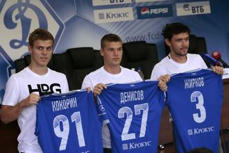 Из тройки новичков «Динамо» 2013 года в московском клубе остается только Денисов