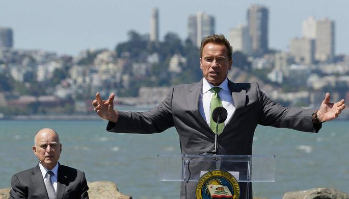 Экс-губернатор Калифорнии Арнольд Шварценеггер продолжает активную борьбу с проблемой глобального...