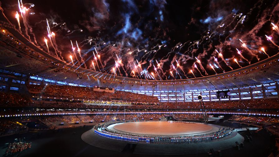 Олимпийский стадион в Баку принял первые Европейские игры в 2015 году