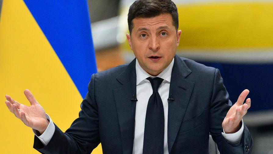 На Украине назвали Зеленского идиотом из-за цен на газ
